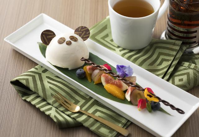 画像2: 愛らしいパンダのケーキと選べる種類豊富なドリンクセットを発売
