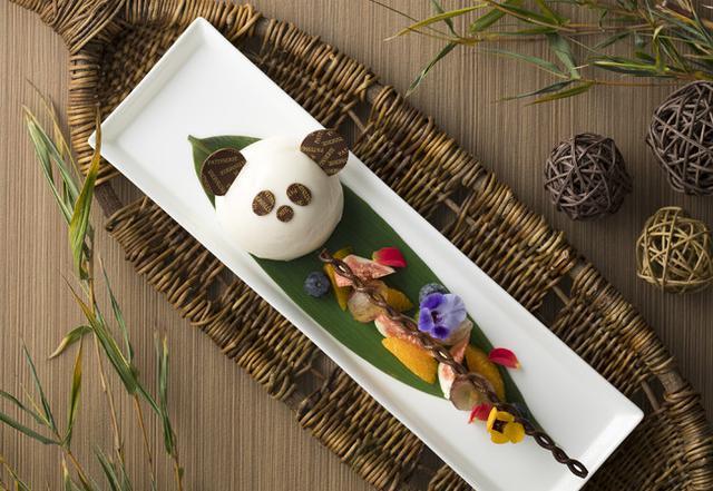 画像1: 愛らしいパンダのケーキと選べる種類豊富なドリンクセットを発売