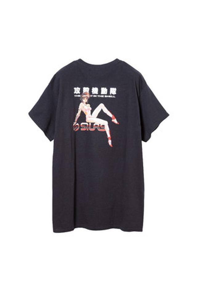 画像: ⓒ 士郎正宗/講談社 攻殻機動隊 Tシャツ 価格:6,600円(税込)