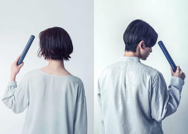 画像2: 美容家電ブランドSALONIAから「ジェンダーレスカラー」のヘアアイロン&ドライヤーが新発売