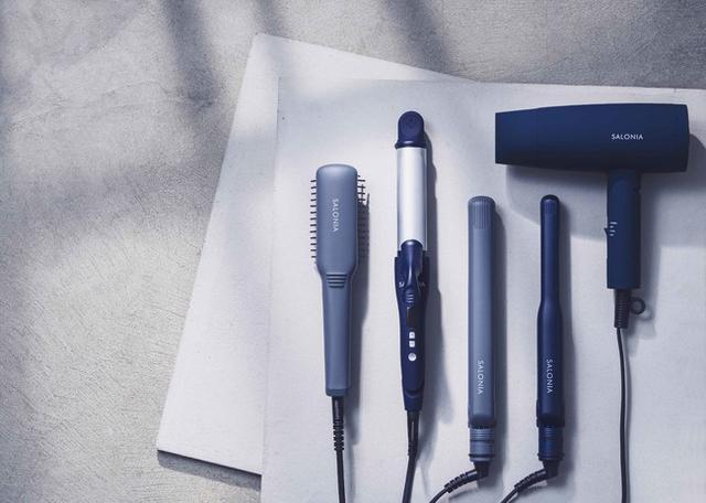 画像1: 美容家電ブランドSALONIAから「ジェンダーレスカラー」のヘアアイロン&ドライヤーが新発売