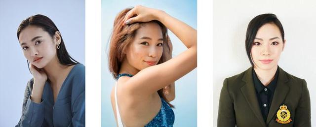 画像: (左) モデル:香川沙耶(かがわ・さや) (中) ランニングアドバイザー兼モデル:福内櫻子(ふくうち・さくらこ) (右) フィギュアスケート選手:小松原美里(こまつばら・みさと)