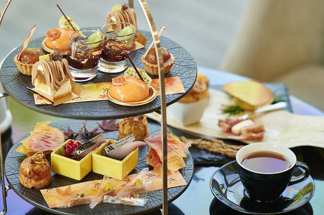 画像2: 【東京マリオットホテル】多彩なキャラメルが楽しめるアフタヌーンティーとマロンスイーツ2種が販売中