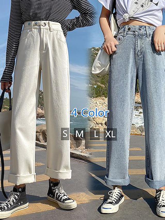 画像: [Qoo10] 牛仔裤 : レディース服