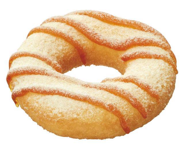 """画像3: 新食感ドーナツが登場!おいしさムチッ!HOTでモチッ!秋の味覚を存分に楽しめる、""""紫芋モンブラン""""と""""メープル""""の2つのフレーバー"""