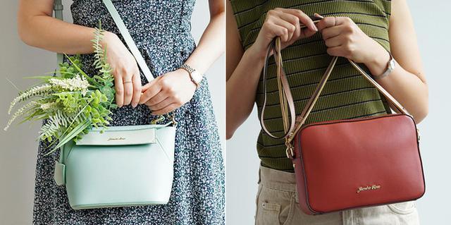 画像1: 小さいのに長財布が入る優秀サイズ!「ジュエルナローズ」の新作ミニショルダーバッグ