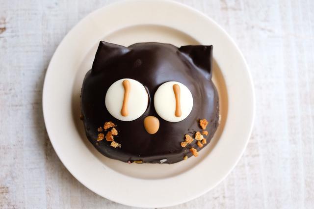 画像1: キャラメル×黒ネコ
