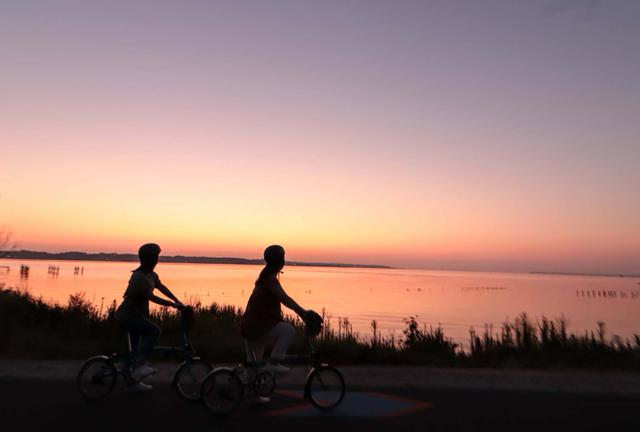 画像1: 星野リゾート BEB5土浦「朝焼け絶景サイクリング」