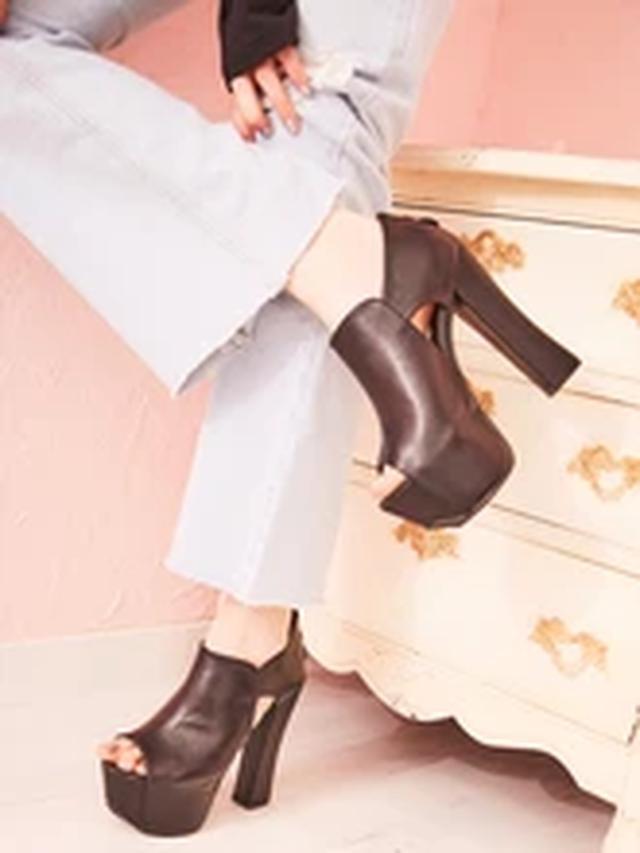 画像7: 秋冬の本命!厚底ブーツをご紹介