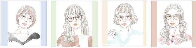 画像3: 愛眼が「似合うメガネ」の選び方を提案!