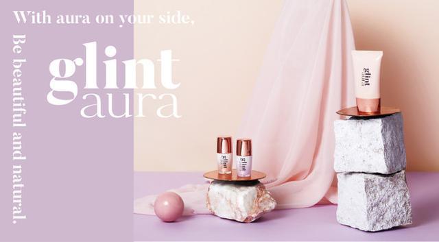 画像3: 上品な濡れ感を演出する「glintaura」のリキッドハイライトから秋冬メイクに透明感を与える新色「シアーライラック」新発売