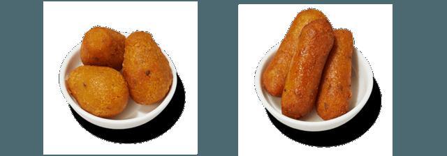画像: 選べる二種類のファラフェル