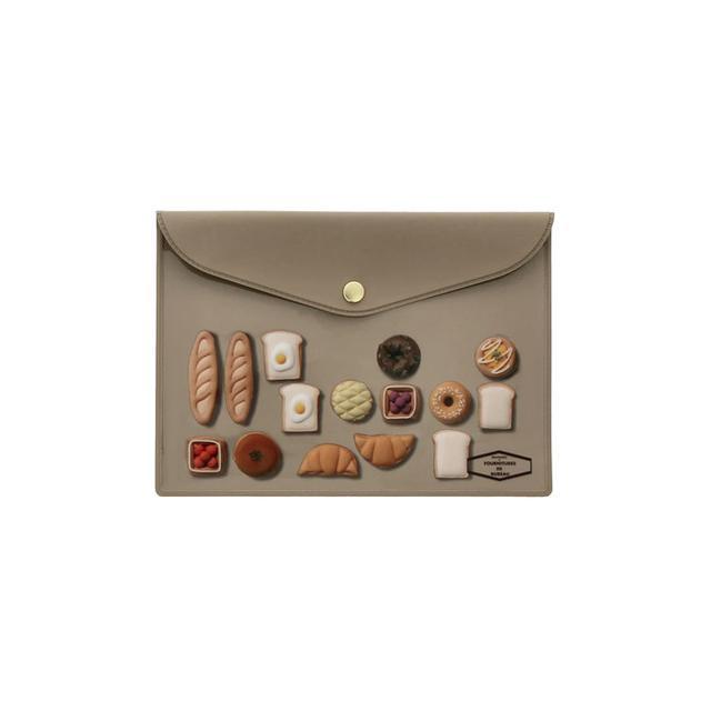 画像: アイシングクッキー ANTOLPO ビニールブリーフケース A6 480円+税