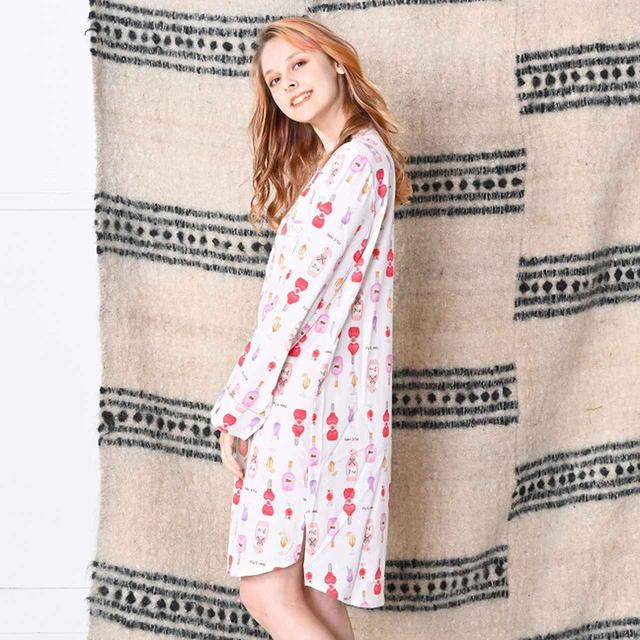 画像3: 秋のおうち時間は「piu E-mail(ピゥ イーメール)」のパジャマでリラックス