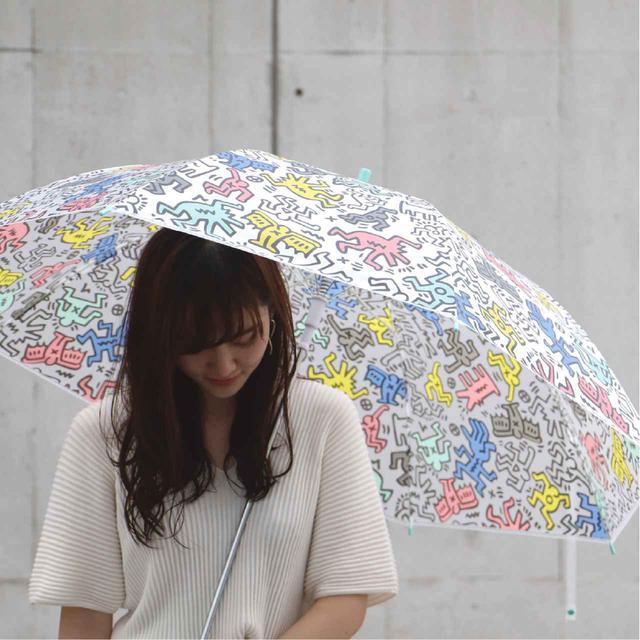 画像4: 秋雨に使いたい!キース・へリングのビニール傘がセブン-イレブン店舗とセブンネットショッピングで買える!