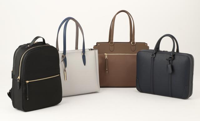 画像: 「女性目線」をテーマにしたビジネスバッグ