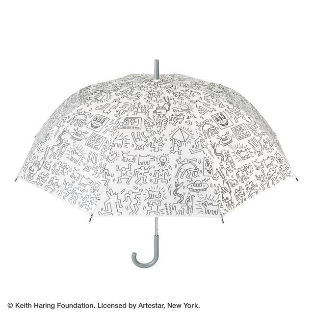 画像7: 秋雨に使いたい!キース・へリングのビニール傘がセブン-イレブン店舗とセブンネットショッピングで買える!