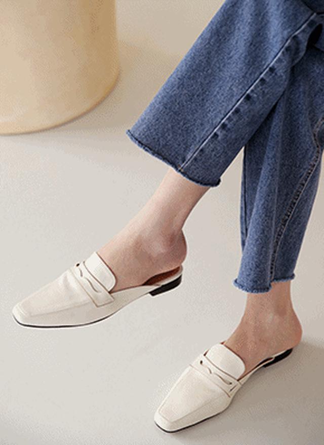 画像: [DHOLIC] 2TYPEミュール・全4色シューズ・靴フラットシューズ|レディースファッション通販 DHOLICディーホリック [ファストファッション 水着 ワンピース]
