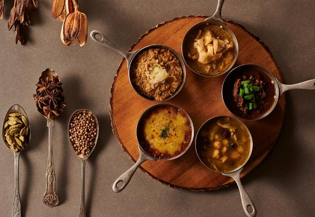画像: 【軽井沢マリオットホテル】信州の味覚を存分に味わえる5種のカレーから3種をチョイス「Delicious Shinshu Curry Set」に秋メニュー登場