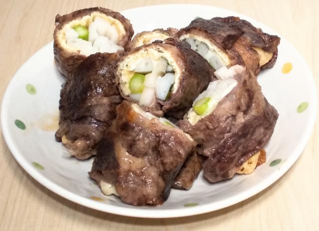 画像1: タニタ食堂オリジナルのレシピ「ごちそう肉巻き」