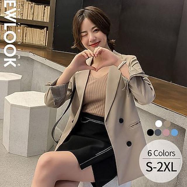 画像: [Qoo10] テーラードジャケット レディース : レディース服