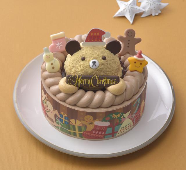 画像: くまさんのチョコレートケーキ