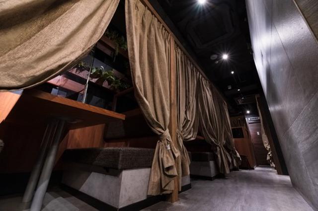 画像: 店内は全部屋が個室です!