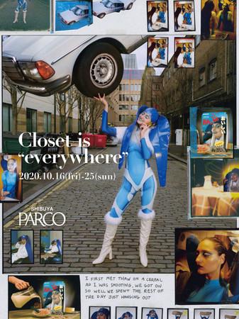 """画像1: 渋谷PARCO""""初""""OMOファッション販売企画「Closet is """"everywhere""""」開催"""
