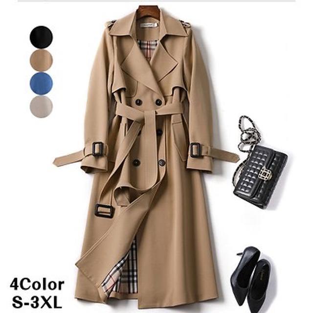 画像3: ファッショントレンチコート