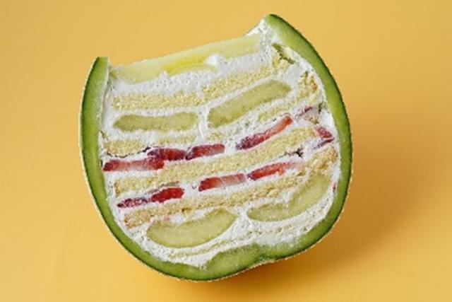 画像: 人気のまるごとメロンケーキがハロウィンVer.になって登場