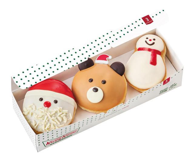 画像8: 今年のホリデーは人気のスノーマンとサンタに加えて、クリスマスベアやマスカルポーネのドーナツが新登場!