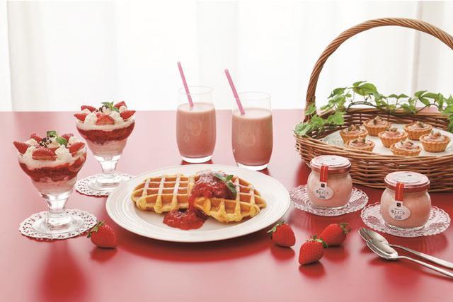 画像: 国産いちごのキュートな「いちごバラエティー詰合せ」&「いちごチーズデザート6個詰合せ」