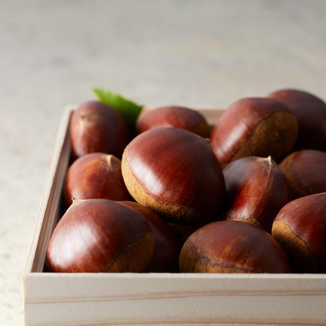 画像: 日本一の大きさと風味高さ・甘さが特徴の「能勢栗」を使用