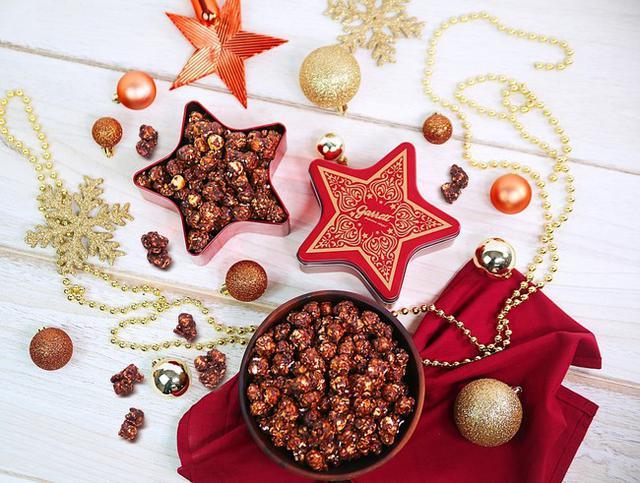 画像1: クリスマスを彩る星型缶に、新レシピ「ココア ヘーゼルナッツ」をつめた『Holiday Star』期間限定・数量限定で発売!