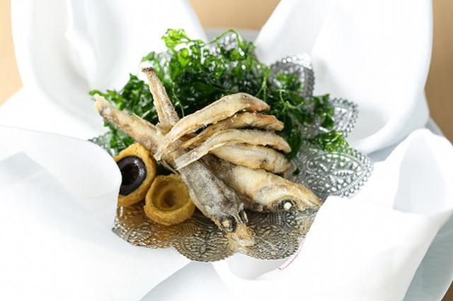 画像: ●Amuse(アミューズ) 鮮魚のフリチュールと二種のオリーヴのフリット