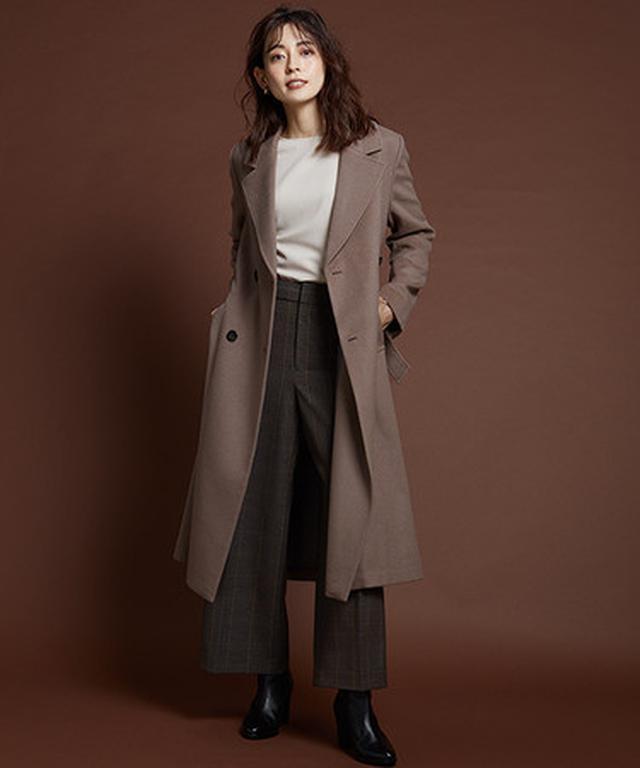 画像4: 人気モデル今井りかさんが着こなす2020秋冬アウターコレクション