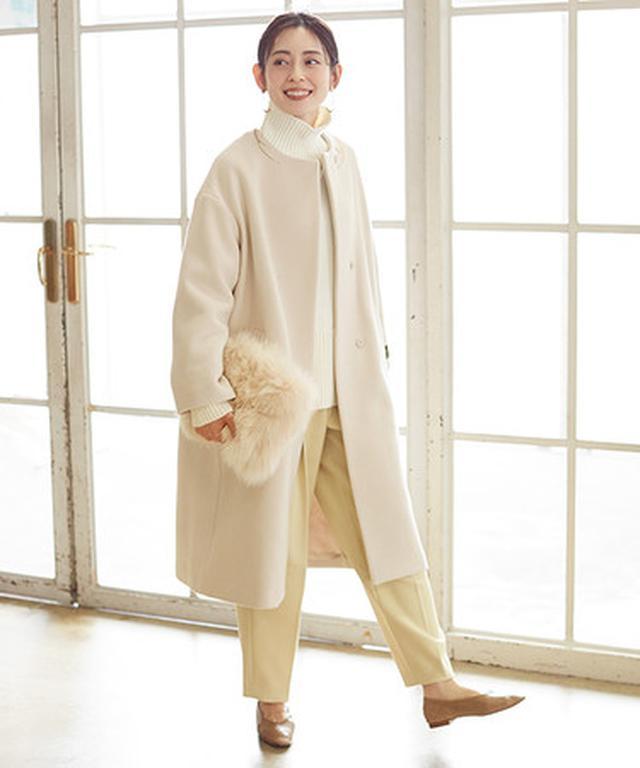 画像2: 人気モデル今井りかさんが着こなす2020秋冬アウターコレクション