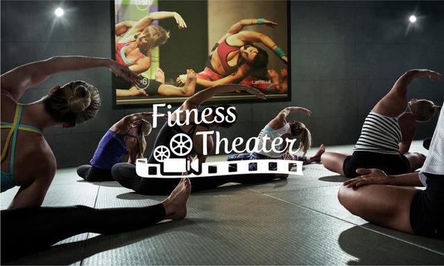 画像: 映画館のような迫力ある体験を味わえる、「Fitness Theater」