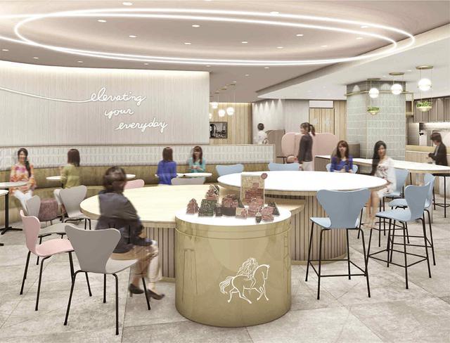 画像: 国内初の「GODIVA Cafe Tokyo」がオープン