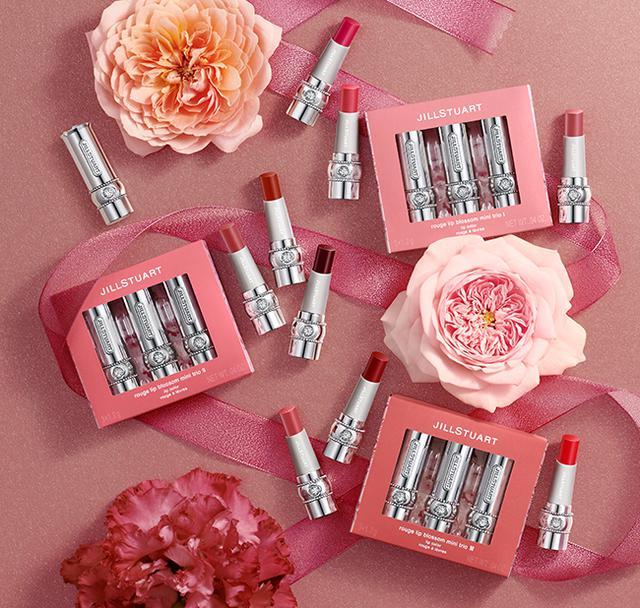 画像: JILL STUART rouge lip blossom mini trio | NEW ITEM | JILL STUART Beauty 公式サイト