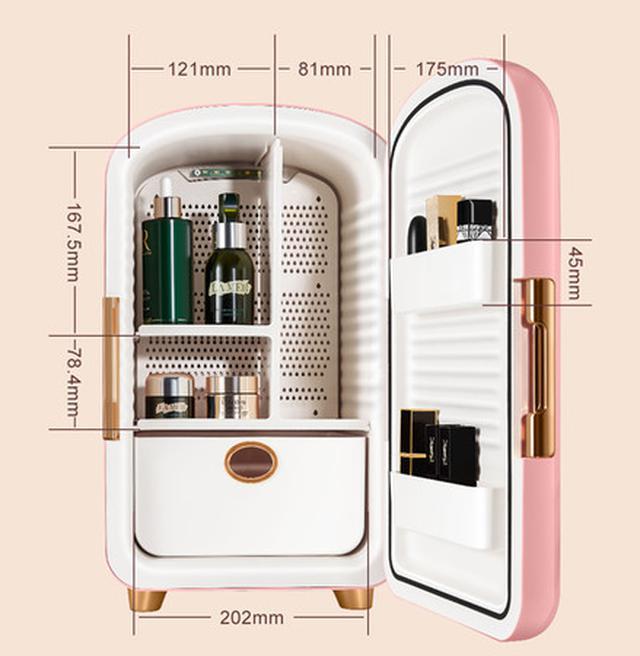 画像4: プロ級のコスメ管理ができるコスメ専用冷蔵庫「Frestec」で、極上のおうち美容を。