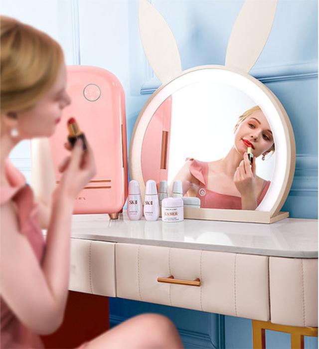 画像3: プロ級のコスメ管理ができるコスメ専用冷蔵庫「Frestec」で、極上のおうち美容を。