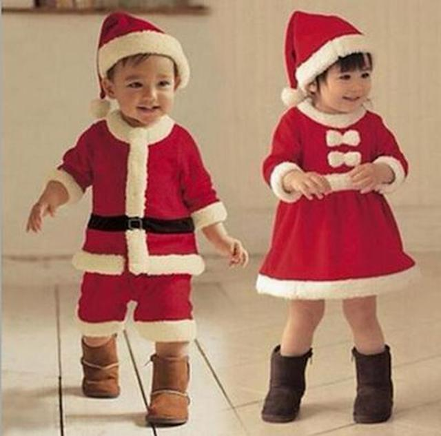 画像: 子ども用サンタクロースコスチューム
