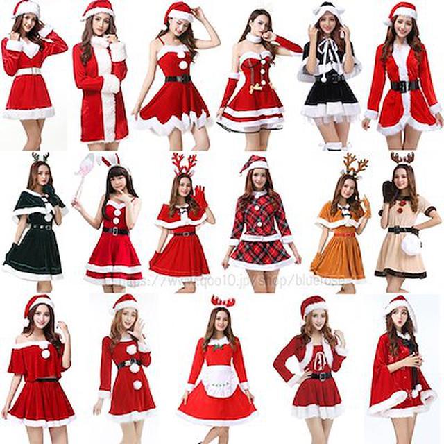 画像: [Qoo10] クリスマス コスプレ 仮装 : ホビー・コスプレ