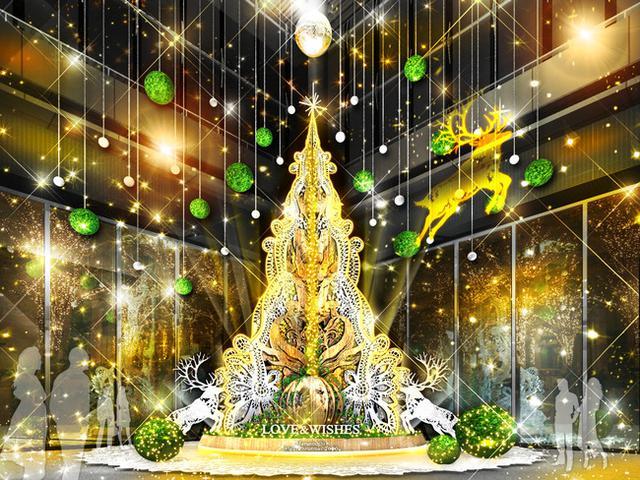 画像: 【2】Marunouchi Bright Christmas 2020 ~LOVE & WISHES~
