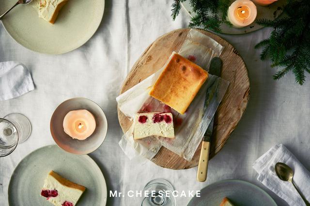 画像: イチゴミルクの懐かしさにライチが加わった、クリスマス限定フレーバー「Mr. CHEESECAKE Lychee milk Strawberry」が登場