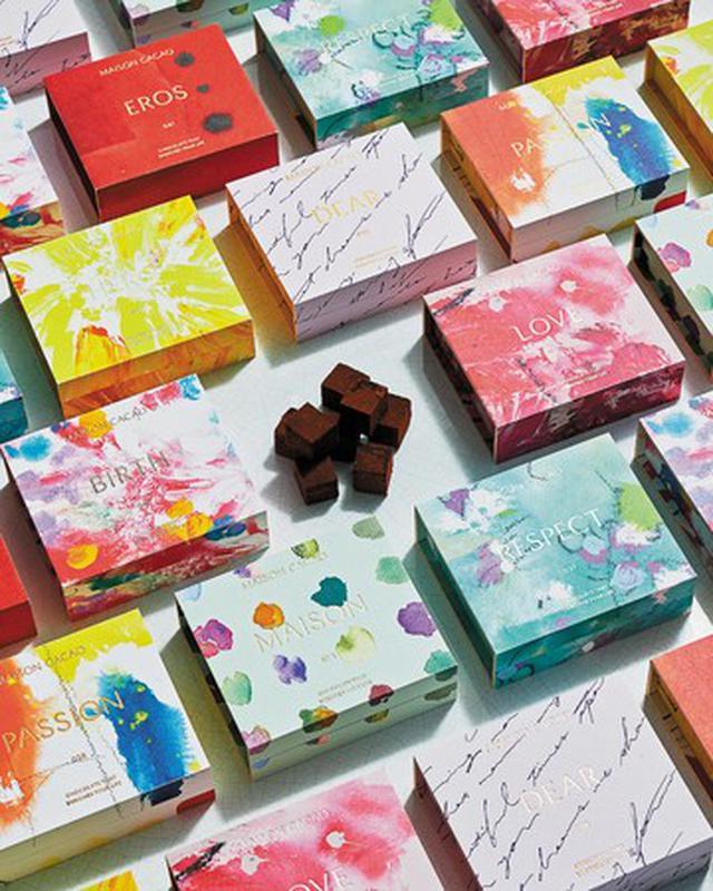 """画像: 2021年バレンタインはアート×詩×音楽がチョコレートとコラボレーション。8つの物語に載せて想いを贈る""""EMOTIONAL""""シリーズ新発売"""