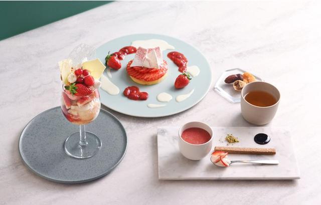 画像1: 完全予約制フルーツのフルコース専門店「フルーツサロン」に「いちご×ハーブ」の冬の贅沢フルコースが登場