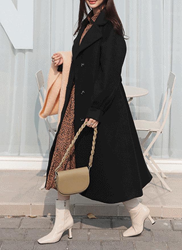 画像: [DHOLIC] ベルト付ダブルボタンコート・全3色アウターコート|レディースファッション通販 DHOLICディーホリック [ファストファッション 水着 ワンピース]