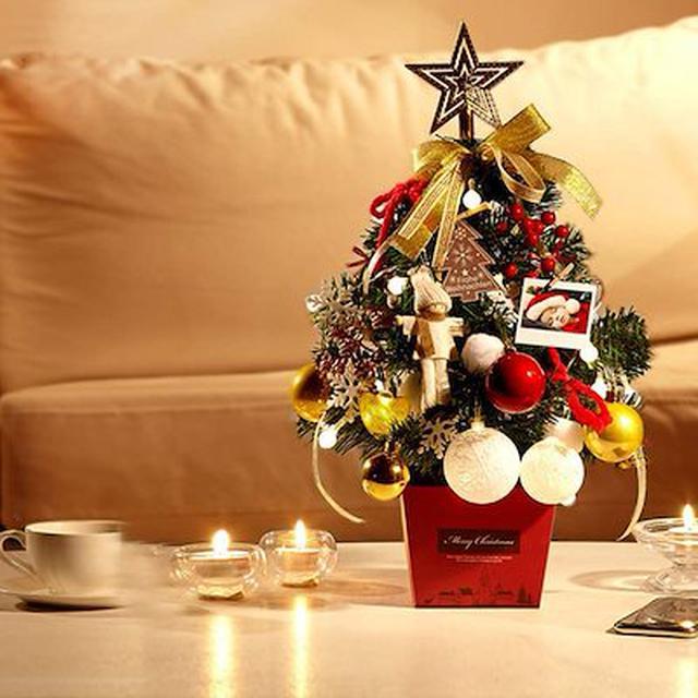 画像: 卓上クリスマスツリー